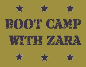 bootcamp with zara